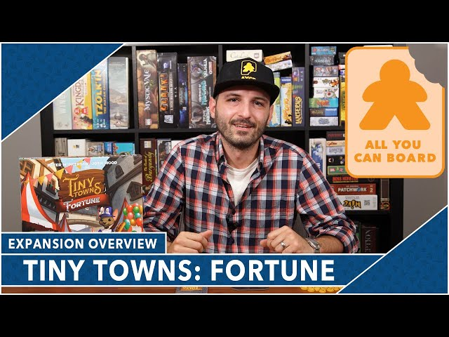Tiny Towns: Fortune - Does It Make Tiny Towns Even Better?