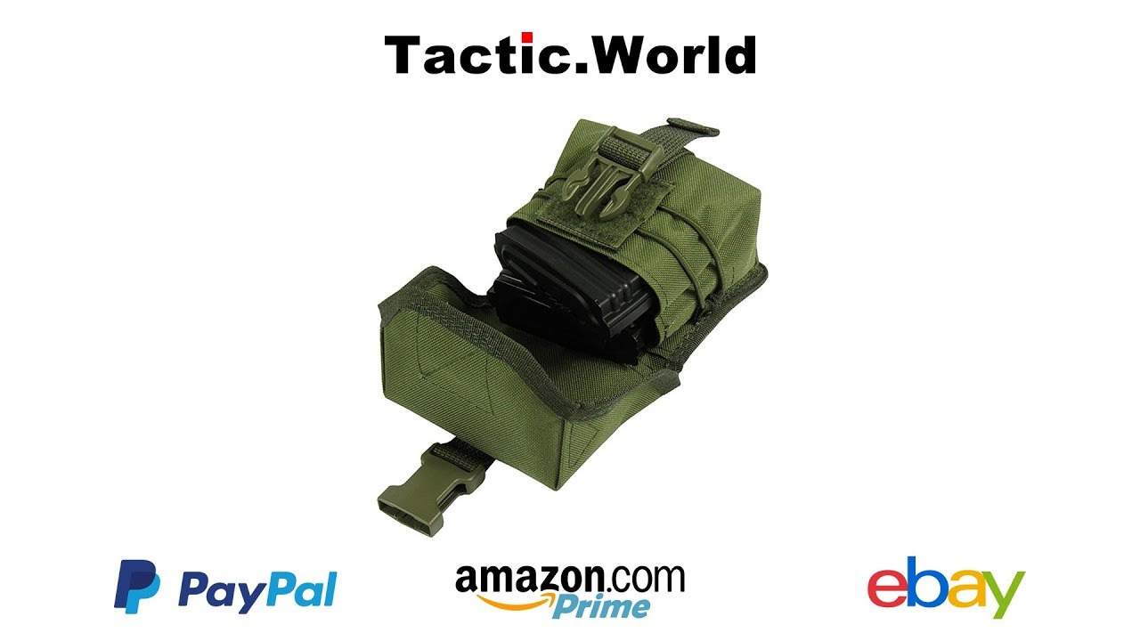 Molle Tactical Pouch Case for Map Tactical Papper on Arm Tablet Hand