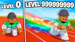 I GOT LEVEL 999,999,999 MAX ROBLOX SPEED