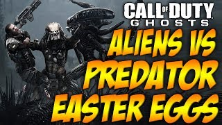 COD Ghosts 'ALIENS vs PREDATOR' Easter Eggs (AVP Ruins Movie References)