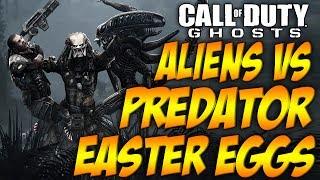 COD Ghosts 'ALIENS vs PREDATOR' Easter Eggs (AVP Ruins Movie References)