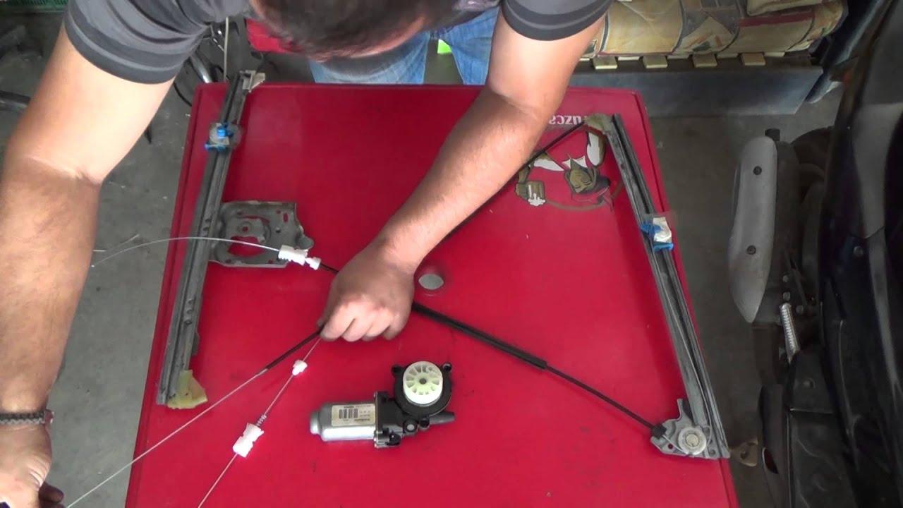 Conjunto reparación elevalunas delantero izquierdo para Renault Megane scenic I