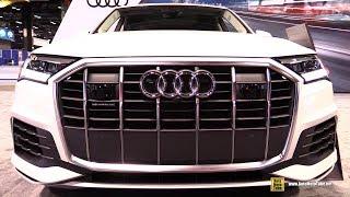 2020 Audi Q7 - Exterior Interior Walkaround  2020 Chicago Auto Show