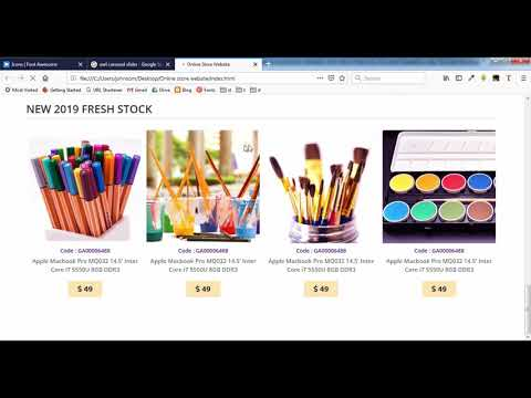 How to Create Online Store Website - 5