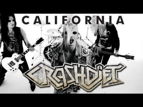 CRASHDIET - California [Official music video]