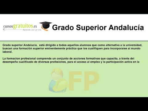 Grado Superior Andalucia Cursosgratuitos Es
