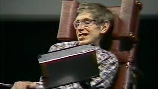 Stephen Hawking discusses Baby Universes, UC Berkeley 1988