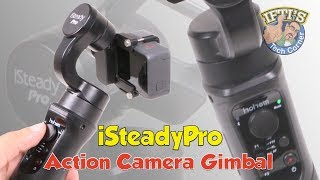 iSteady Pro 3 Axis Handheld Action Camera Gimbal : REVIEW & Sample Footage!
