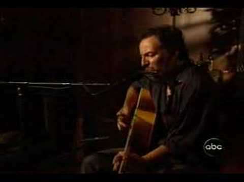 bruce springsteen - empty sky (acoustic)