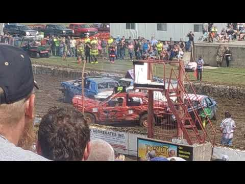 Dodge County Fair Demo Derby #2