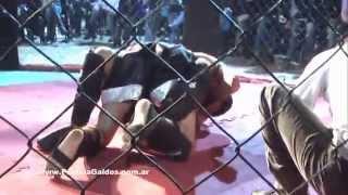 MMA Los Toldos, pelea de German Paez, Pamela Galdos Fiscal