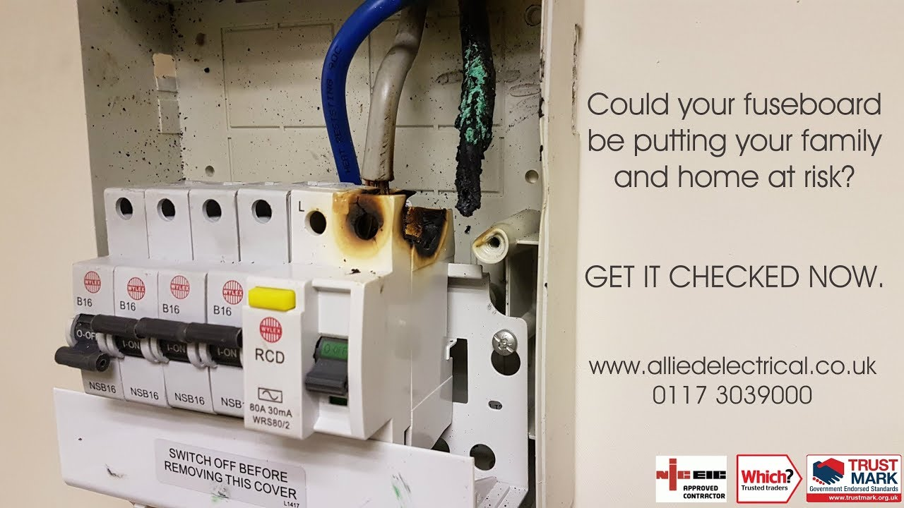 small resolution of now is the time for your replacement fuseboard allied electrical services