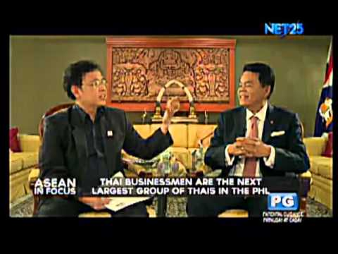 Interview with Thailand Ambassador to the Philippines, H.E. Ambassador Thanatip Upatising