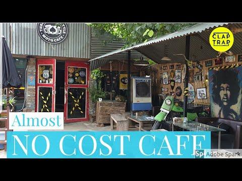 CAFE DESIGN WITH WASTE & JUNK