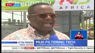 Senator Gideon Moi has unveiled a first of a kind mud filtering technology