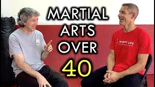 Martial Arts Over 40, 50, and Beyond!