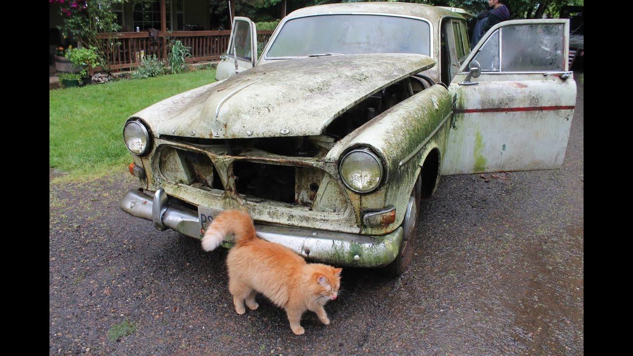The Volvo Rescue Episode 6 Rust Assessment 1967 Volvo