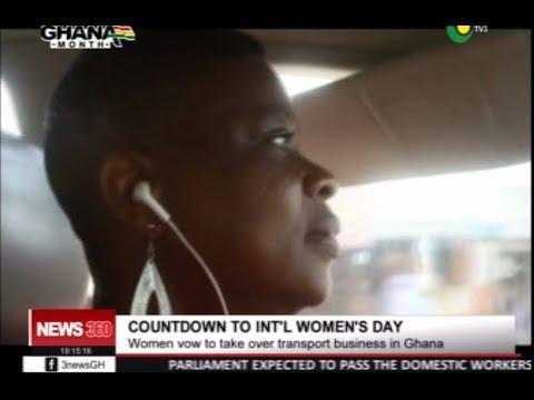 MEET ESENAM THE FEMALE TAXI DRIVER