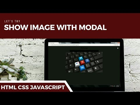 HTML - How To Create Modal Effect On Image