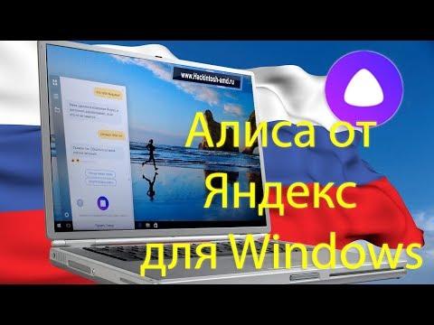 Голосовой помощник Алиса от Яндекс для Windows - Установка тест обзор.