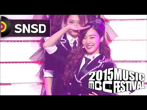 [2015 MBC Music festival] 2015 MBC 가요대제전 Girls' Generation - Genie 20151231