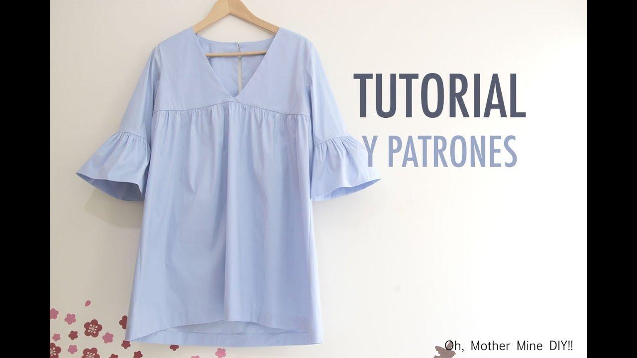 79e6860aac Costura  Vestido para mujer (patrones gratis) - YouTube