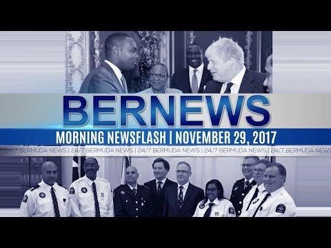 Bernews Morning Newsflash For Wednesday November 29, 2017