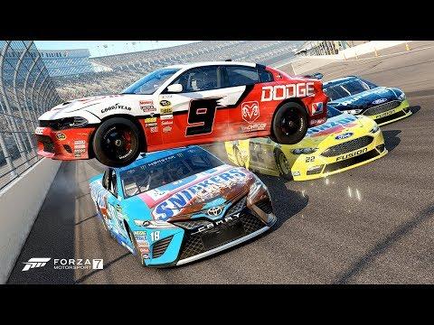 Dodge Stock Car Crash! [Forza Motorsport 7]