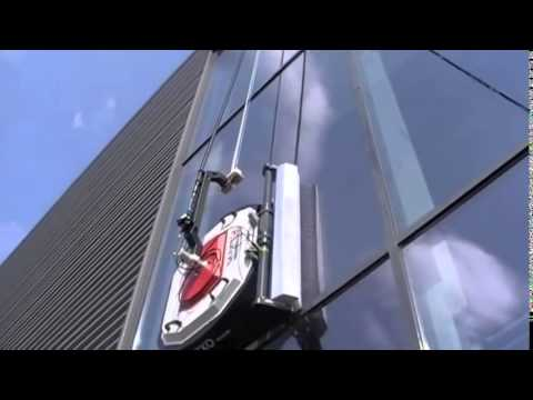 Aldar Serbot Automated Facade Cleaning System Gekko