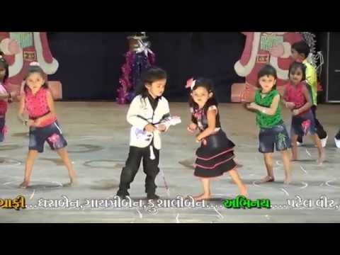 Papa Kehte Hain Bada Naam Karega , Dance by School Children