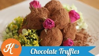Resep Coklat Truffles (chocolate Truffles Recipe Video)