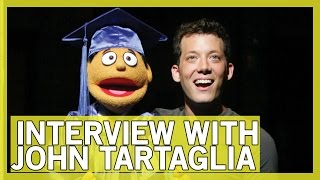 Interview with John Tartaglia (Beauty and the Beast, Avenue Q, and MORE!) | Thingamavlogs