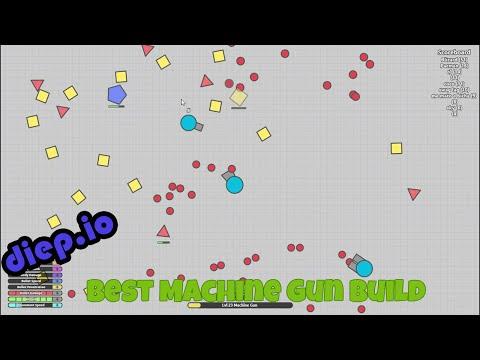Diep.io best machine gun loadout 50000+ score