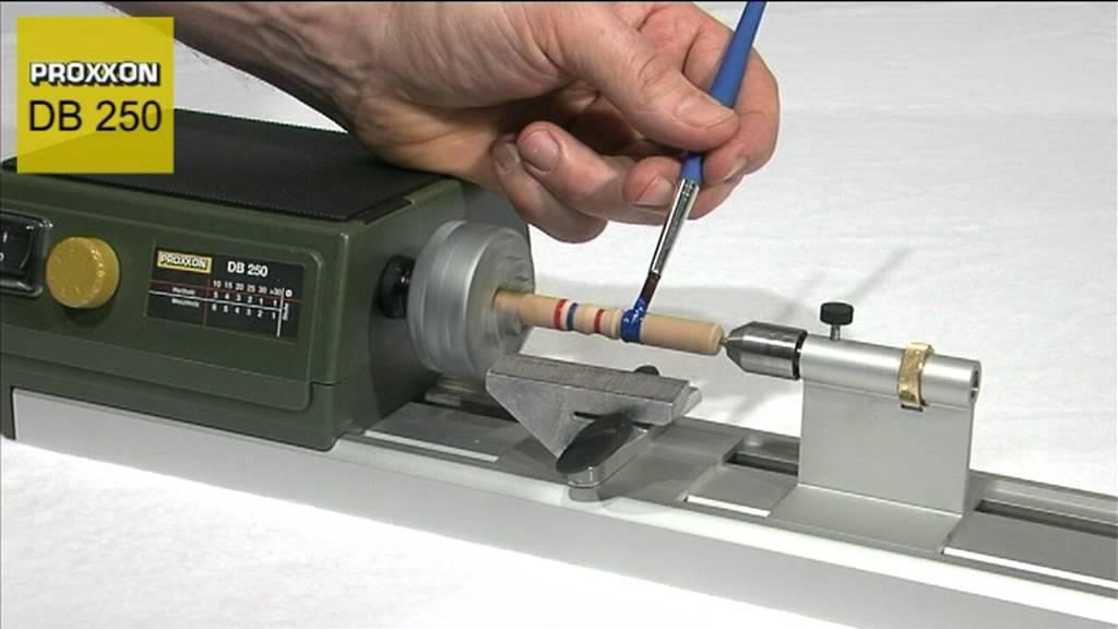 Tornio per legno proxxon db250 doovi for Costruire un tornio per legno