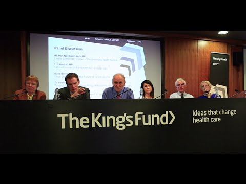 Panel discussion: The future of health and social care funding in England