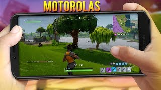 FORTNITE no ANDROID MOTOROLAS que NUNCA VAI RODAR FORTNITE