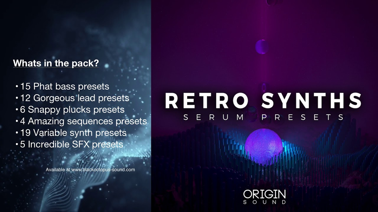 Retro Synths Serum Presets