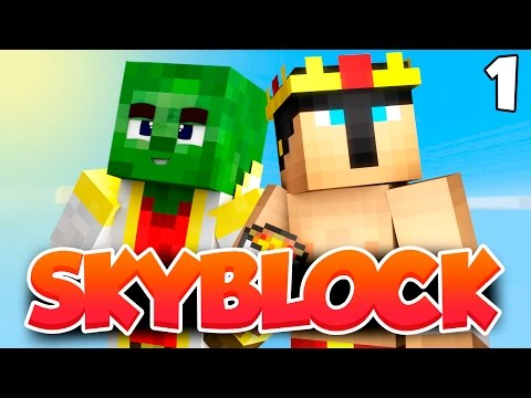 MINECRAFT 1.8 SKYBLOCK - Serie survival EP. 1