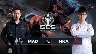 MAD vs HKA - Tuần 2 Ngày 2 - GCS Mùa Xuân 2019 - Garena Liên Quân Mobile