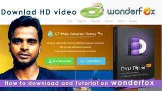 WonderFox DVD Video Converter Tutorial and How to download trail & Pad (full Version )