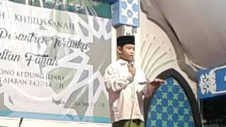 MC bahasa jawa Pengajian Pesantren Terbuka Sultan Fattah 16 Mei 2017  Muhammad Rofi'i Aziz
