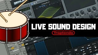 Making Drum Kits Live from Scratch With Serum pt.2 | Drum Kits