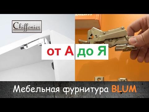 ВСЕ О МЕБЕЛИ: №3 - Мебельная фурнитура BLUM. Изготовление кухни от А до Я.   Chiffonier