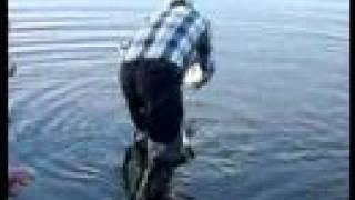 Рыбалка на леща - большой лещ на крючке
