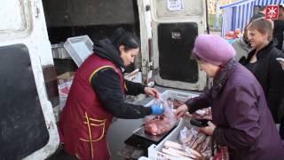На сільськогосподарському ярмарку овочі продають оптом, а ціни на м'ясо завищують -- Житомир.info(, 2013-11-09T11:30:09.000Z)