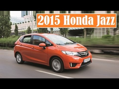 2015 Honda Jazz, this third-generation Honda's car is finally arriving in European