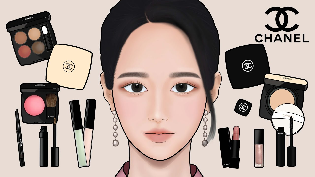 '사이코지만 괜찮아' 고문영 서예지 : 샤넬 원브랜드 메이크업 애니메이션 ASMR 'It's Okay to Not be Okay' Makeup Tutorial with CHANEL