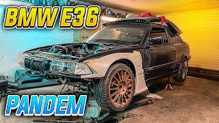 TESTIRAMO PANDEM WIDEBODY NA BMW E36 DRIFT DRLJI!!!
