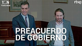 DIRECTO | Sánchez e Iglesias anuncian acuerdo entre PSOE y PODEMOS