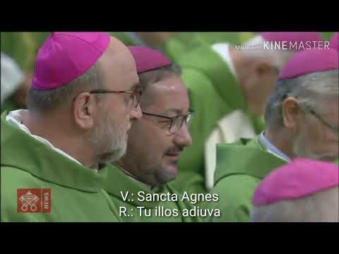 Laudes Regiæ (with subtitles) at the Amazon Synod opening Mass/Laudes regiae legenda em latim